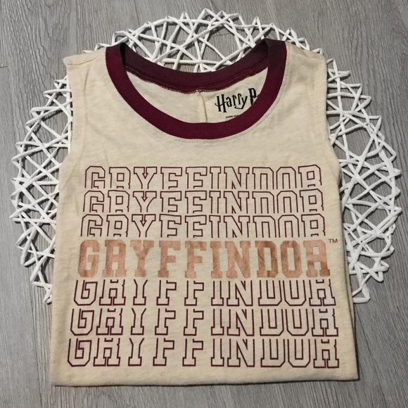 Warner Bros. Other - NWOT Harry Potter Gryffindor Tank Top Graphic Tee